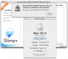 Silverlight 1.0 beta doesn' install on 10.4.10