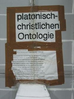 platonisch christliche Ontologie
